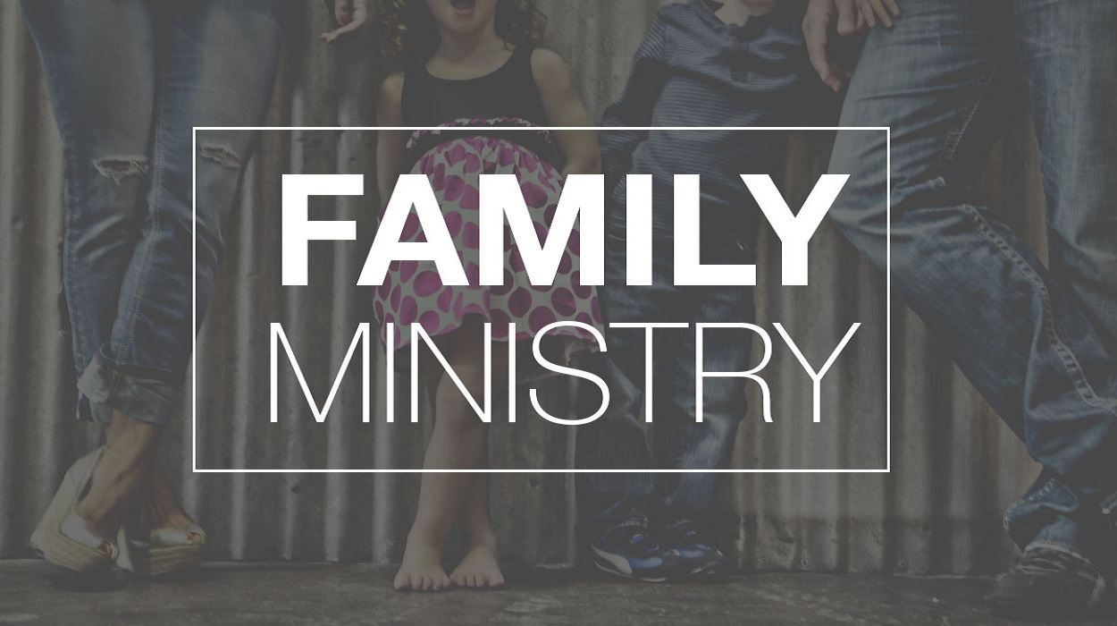 FAMILY MINISTRY TWICE MONTHLY SATURDAYS 6pm