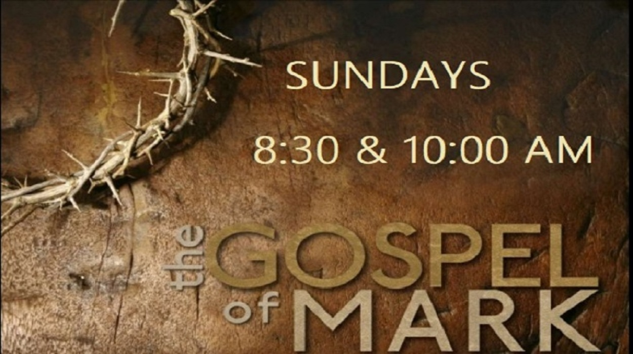 SUNDAY SERVICES- 8:30AM & 10AM