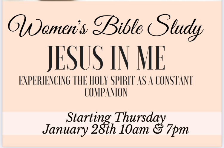 TUESDAY WOMEN'S BIBLE  STUDY 7PM