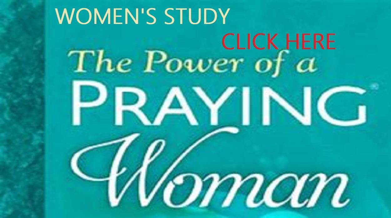 WOMEN'S BIBLE STUDY STARTS MAY 27TH