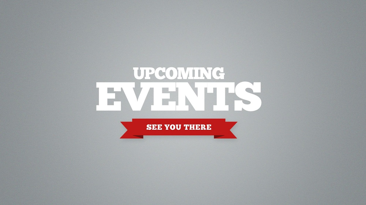 SPECIAL UPCOMING EVENTS